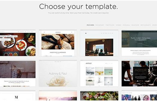 Template takeover causes shift in web design industry