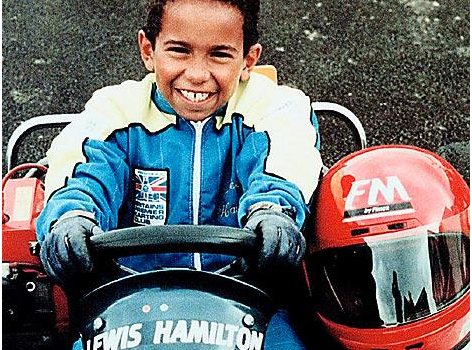 The Impressive Childhood Lewis Hamilton